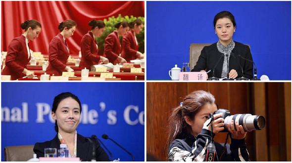 Международный женский день - самые красивые женщины на сессиях ВСНП и ВК НПКСК