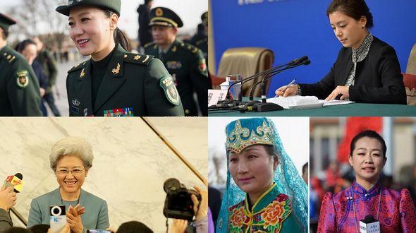 Прекрасный пол на двух сессиях в Китае