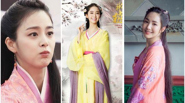 Корейские актрисы в китайских сериалах
