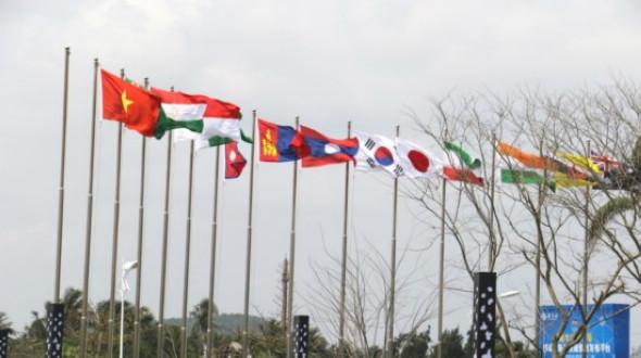 Посещение пресс-центра Боаоского азиатского форума