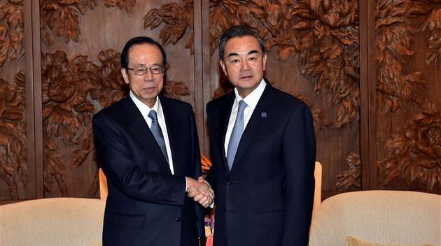 Ван И встретился с председателем Совета БАФ