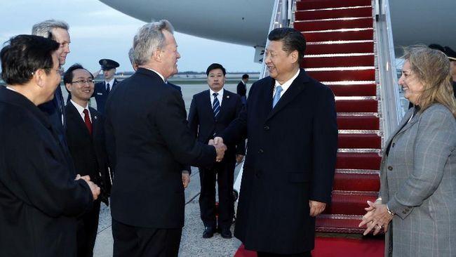 Председатель КНР Си Цзиньпин прибыл в Вашингтон для участия в 4-м саммите по ядерной безопасности