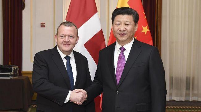 Си Цзиньпин встретился с премьер-министром Дании Л.Л.Расмуссеном