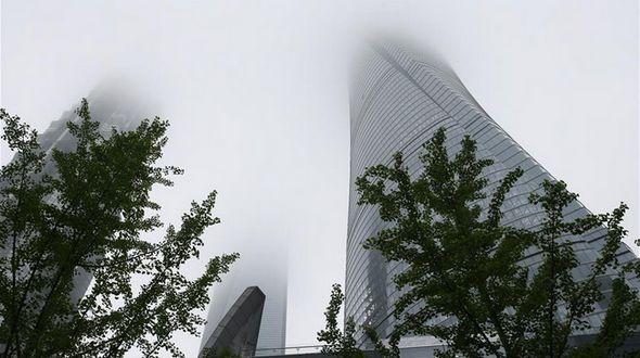 Самое высокое сооружение Китая частично открыто для публики