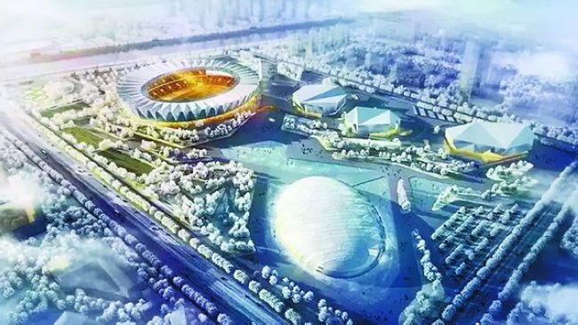 Определен дизайн главного стадиона Олимпийских игр в Чжанцзякоу