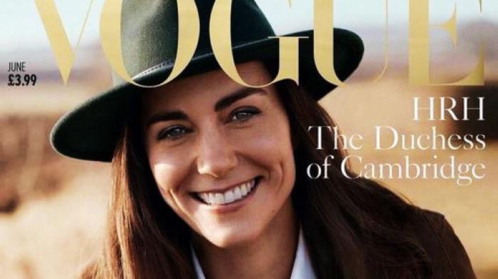 Кейт Миддлтон попала на обложку «Vogue» британской версии на июнь