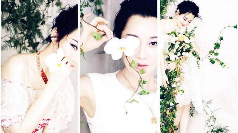 Звезда Сюй Цин в модных фото для «Noblesse»