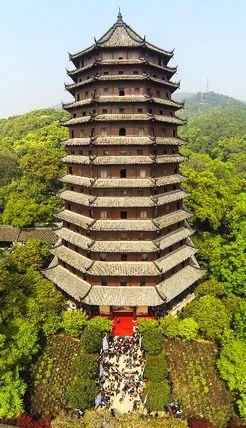 Башня Люхэта в Ханчжоу заново открылась