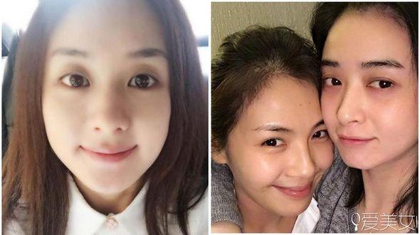 Популярные китайские актрисы без макияжа