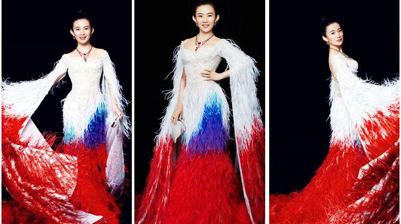 Китайская актриса Чжао Фэнлин