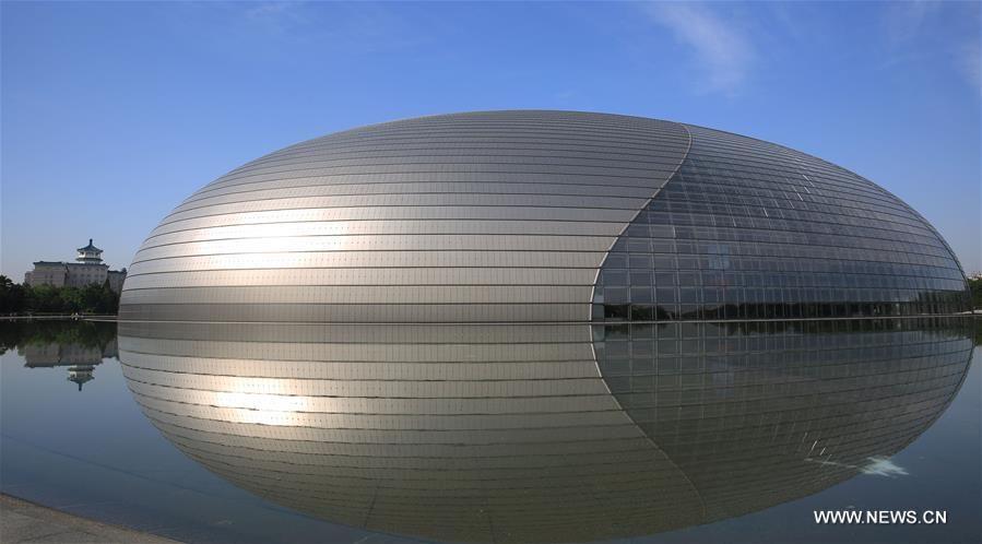 Солнечная погода в Пекине