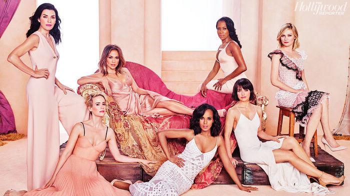 Голливудские звезды в блокбастерах для модного журнала
