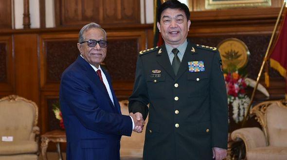 Президент Бангладеш встретился с Чан Ваньцюанем