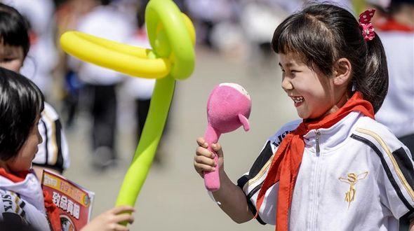 Детские улыбки в День защиты детей