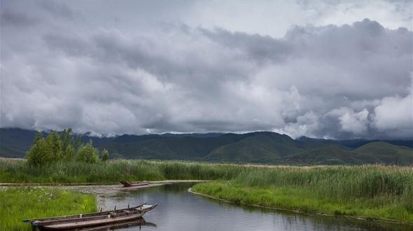 Пейзажи озера Лугу в провинции Сычуань