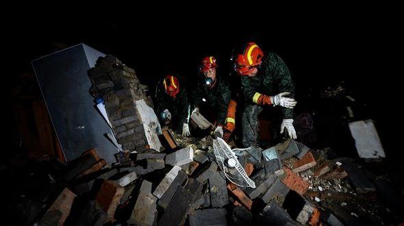 В Восточном Китае из-за конвективной бури погибли 78 человек