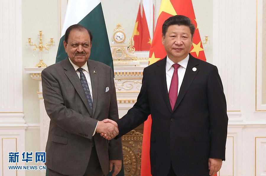 Си Цзиньпин встретился с президентом Пакистана