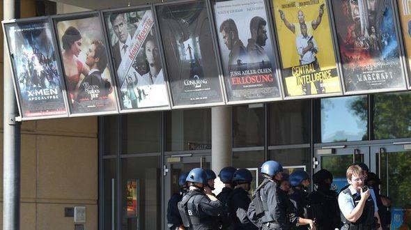 В результате стрельбы на западе Германии ранены 25 человек