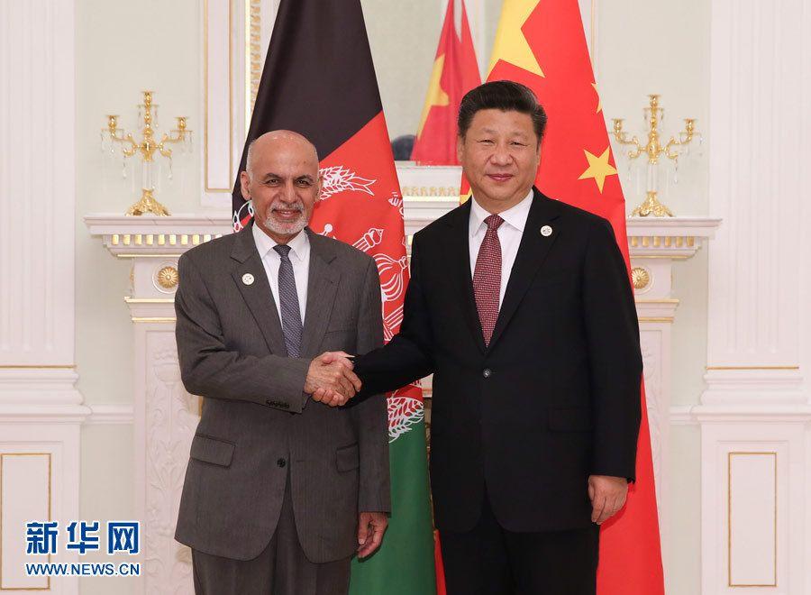 Си Цзиньпин встретился с президентом Афганистана А. Гани