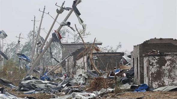 До 98 человек выросло число жертв смерча в провинции Цзянсу на востоке Китая
