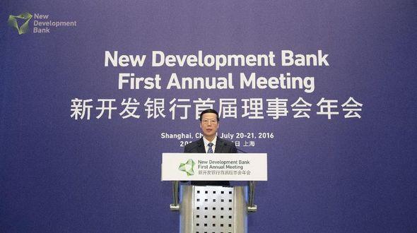 Чжан Гаоли призвал Новый банк развития БРИКС поддержать инфраструктурное строительство