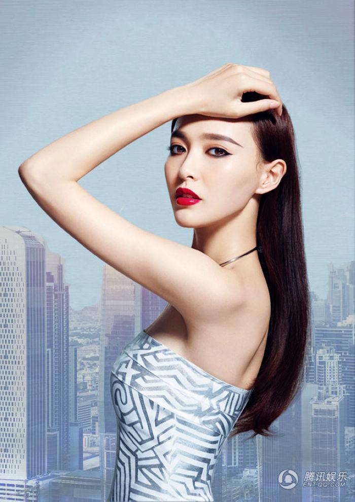 Тун Яо попала в сексуальных фото для модного журнала