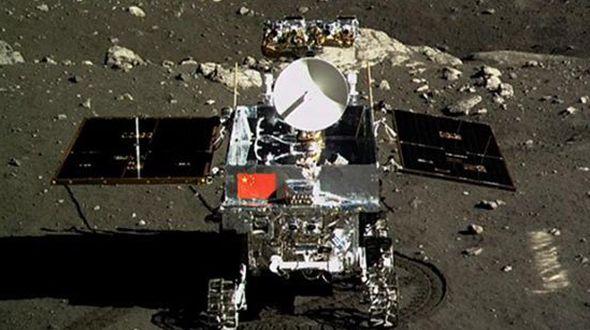 Первый китайский луноход 'Юйту' завершил свою миссию