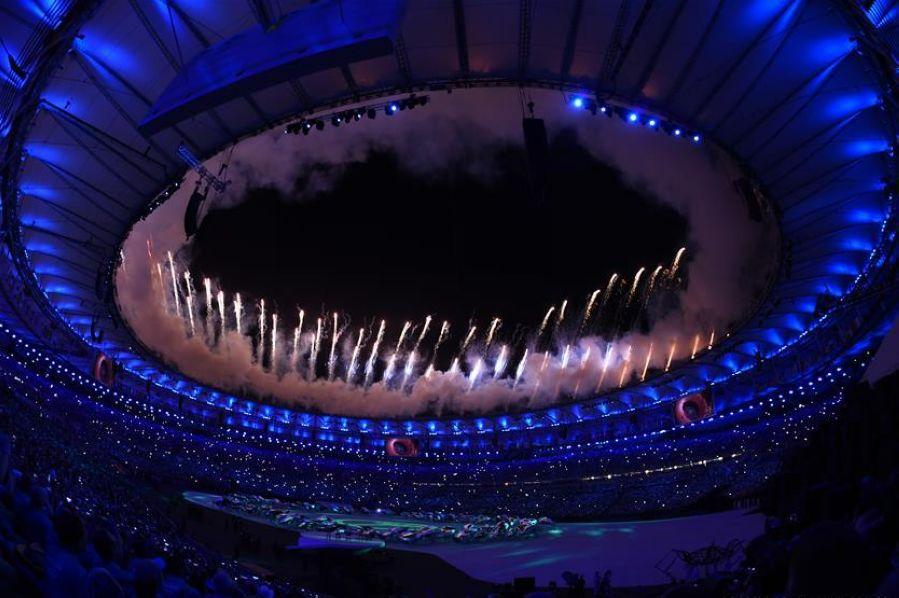 Церемония открытия Олимпийских игр стартовала в Рио-де-Жанейро