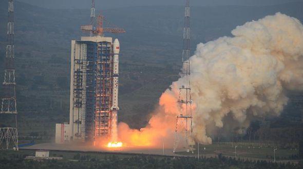 Китай запустил спутник зондирования Земли с высоким разрешением 'Гаофэнь-3'