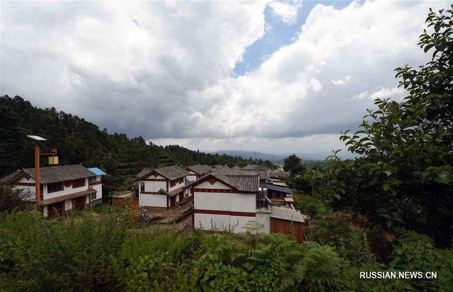 Горная деревня Таньхуа -- идеальное место отдыха и спасения от летнего зноя