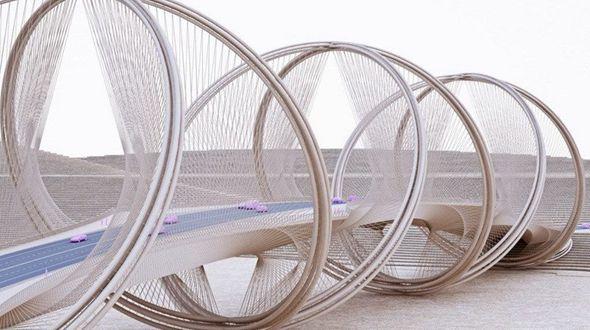Уникальный мост спроектирован для Зимней Олимпиады в Пекине
