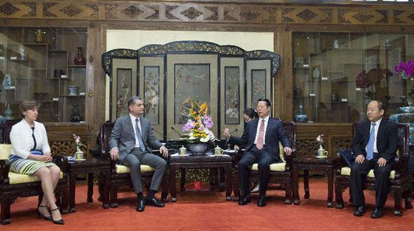 Китай надеется на практические результаты в сопряжении строительства ЭПШП и ЕАЭС -- Чжан Гаоли