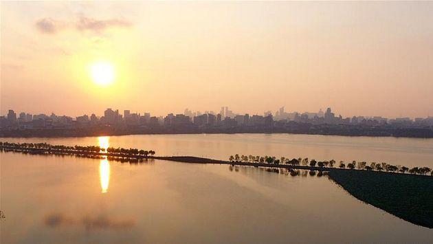 Ханчжоу: взгляд с неба