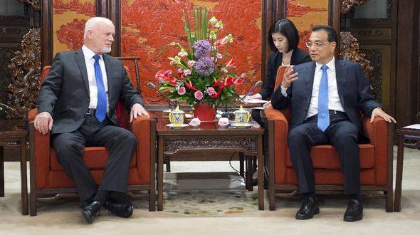 Ли Кэцян встретился с председателем 71-й сессии ГА ООН П.Томсоном
