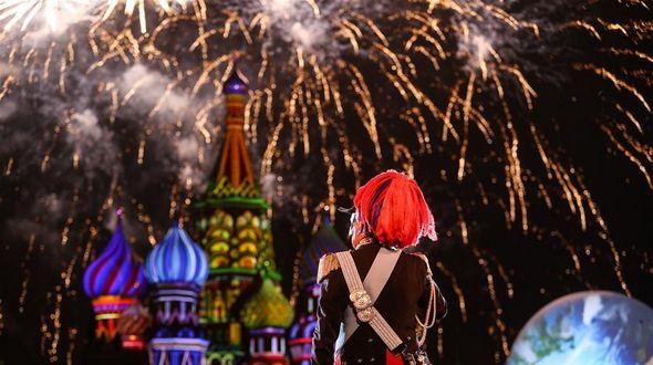 В Москве открылся Международный военно-музыкальный фестиваль 'Спасская башня'