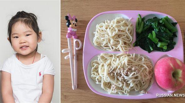 Что едят на обед китайские дети?