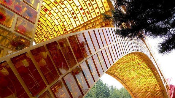 'Золотой мост Шелкового пути' поднялся над Чанъаньцзе