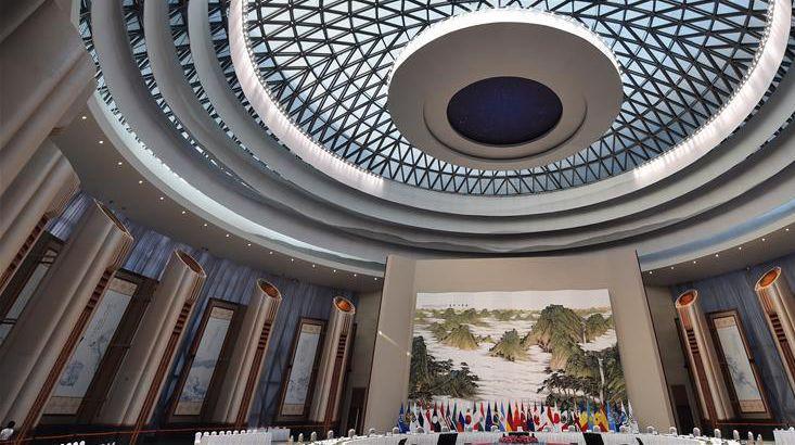 В Ханчжоу главный выставочный павильон саммита G20 открыл двери для посетителей