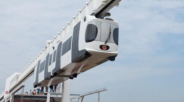 Подвесная железная дорога в Чэнду