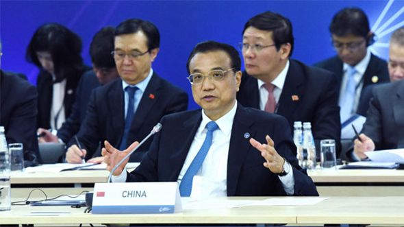 Ли Кэцян присутствовал на 5-й встрече руководителей Китая и стран Центральной и Восточной Европы