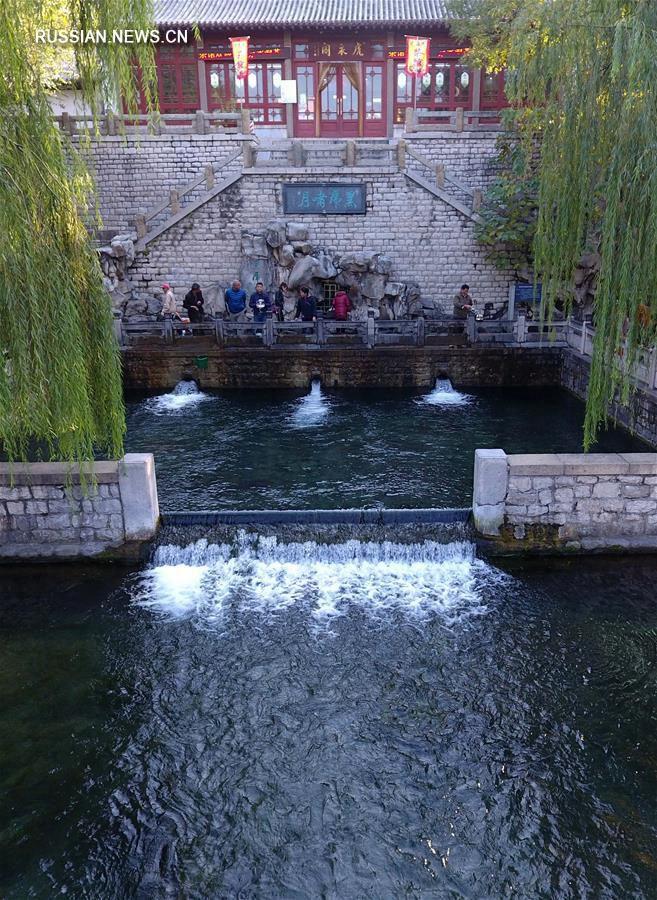 Цзинань становится первым в Китае 'городом водной культуры'