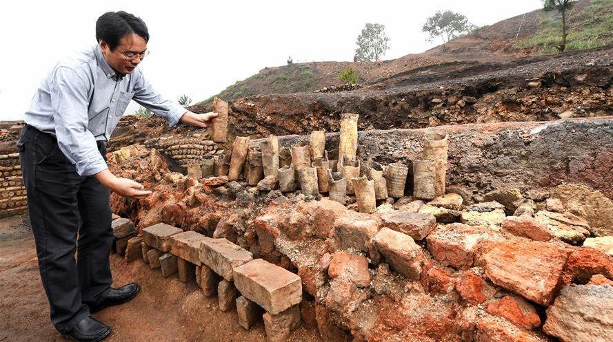 В поселке Гуйян провинции Хунань обнаружены горно-металлургические базы династий Мин (1368-1644) и Цин (1644-1911)