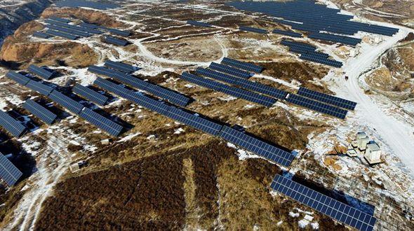 Строительство солнечных электростанций к зимней Олимпиаде-2022 в Китае