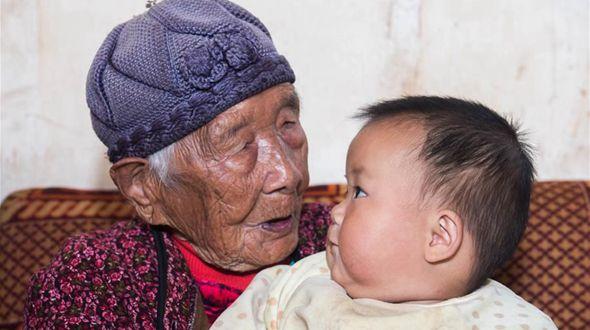Счастливая жизнь 102-летней Ни Цяньха