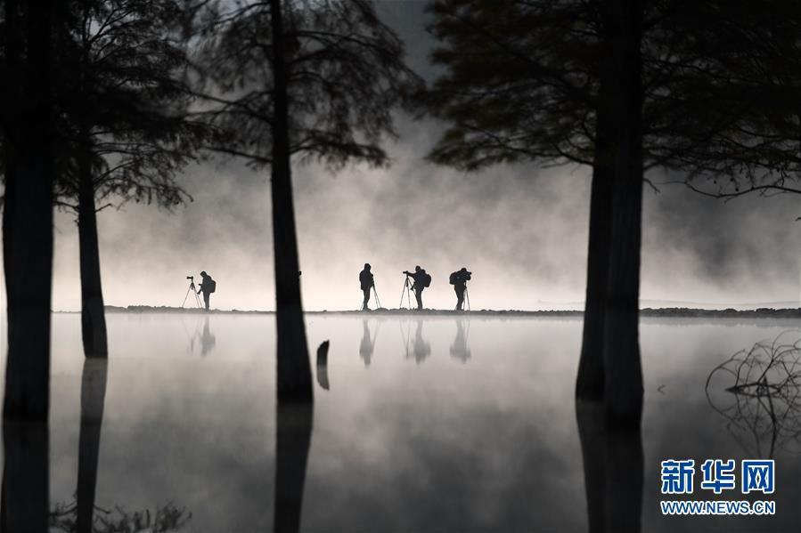Зимнее утро на юге провинции Аньхой