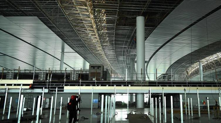 Новый терминал в Чунцинском аэропорту готовится к открытию