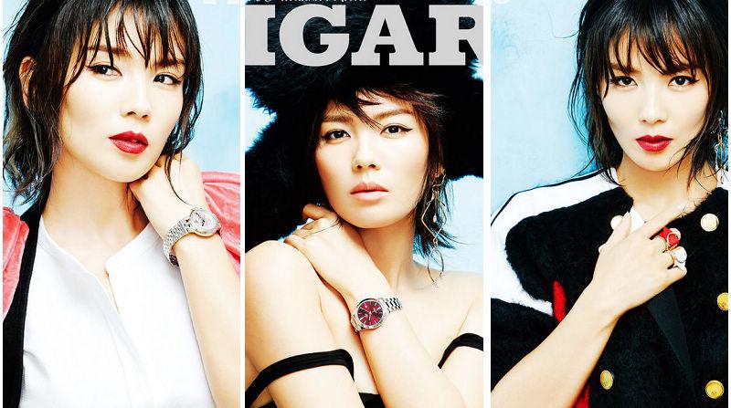 Телезвезда Лю Тао на обложке модного журнала