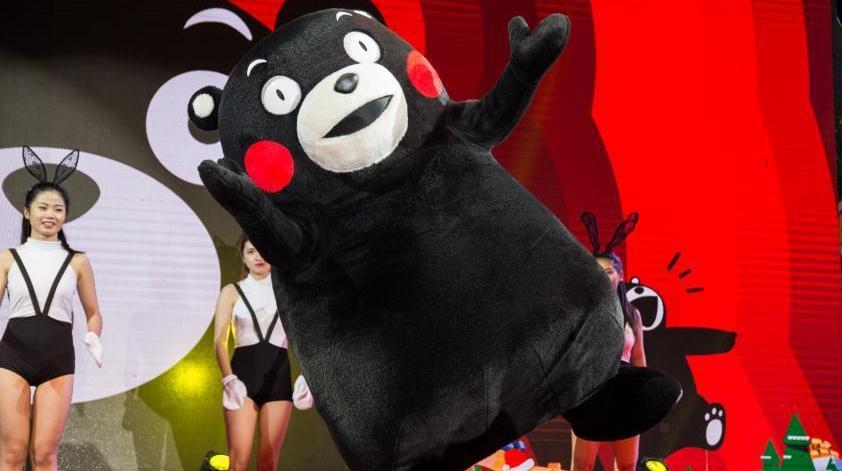 «Самая популярная Интернет-знаменитость» – медведь Кумамон появился в Китае