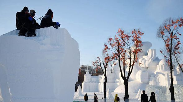 В Харбине стартовал международный конкурс снежных скульптур
