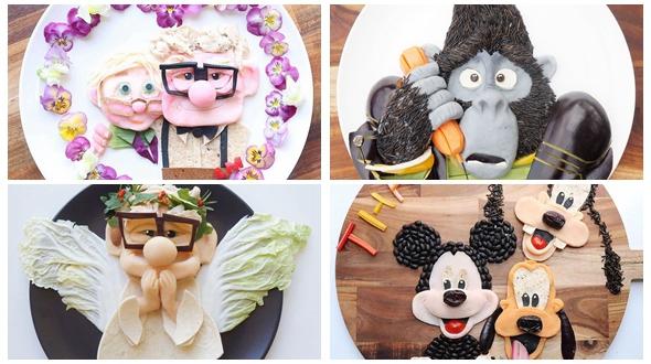Герои мультфильмов как здоровые завтраки